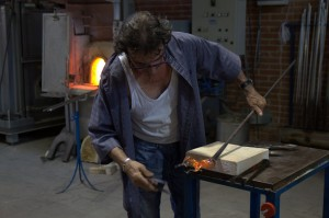 Master Glass Artisan at Work